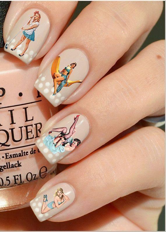 Pin Up Nails Art And Fashion Love For Pin Up