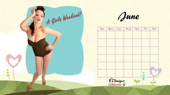 Love for Pin Up - June