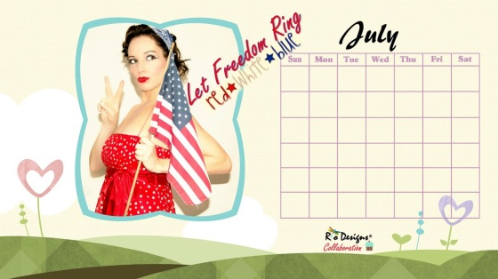Love for Pin Up - Rio Designs - July